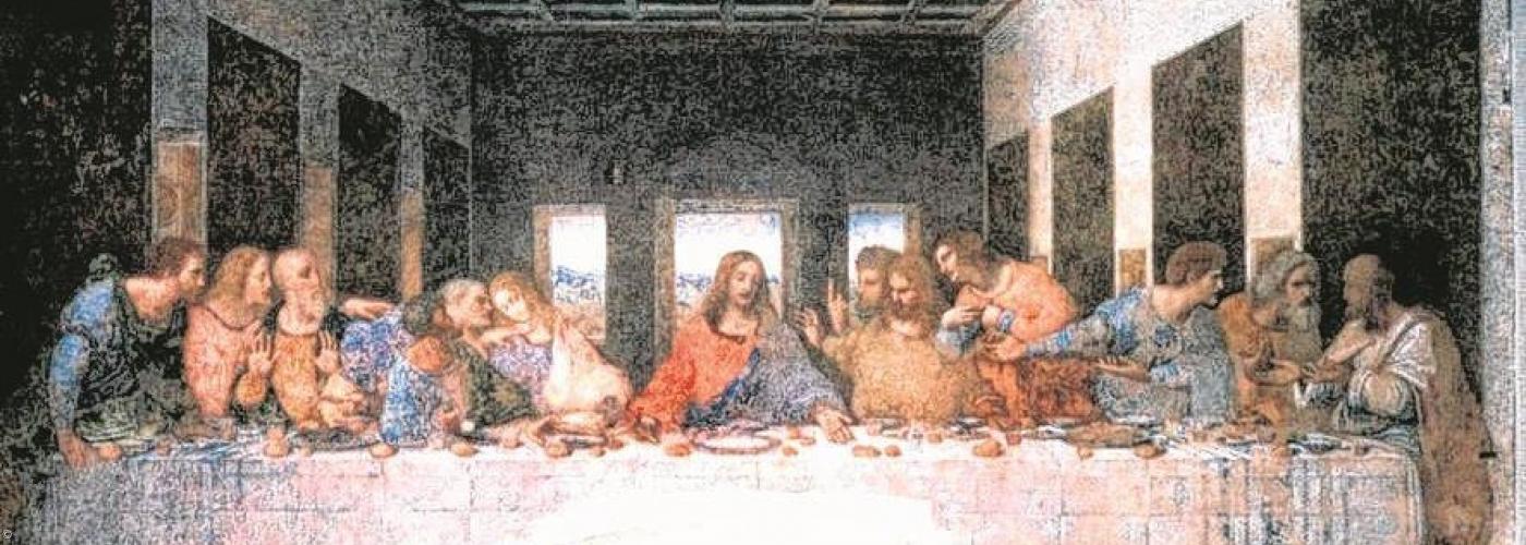 Jesu Christi letztes Abendmahl mit seinen Jüngern